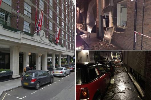 UK - Wybuch gazu w kuchni luksusowego hotelu w centrum Londynu 2
