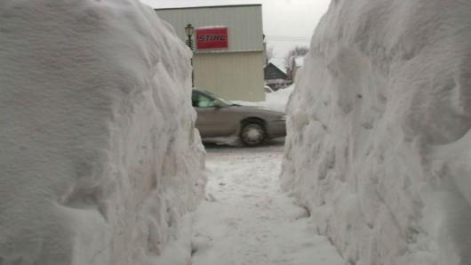 USA - Śnieg który spadł wkrótce zacznie się topić 2