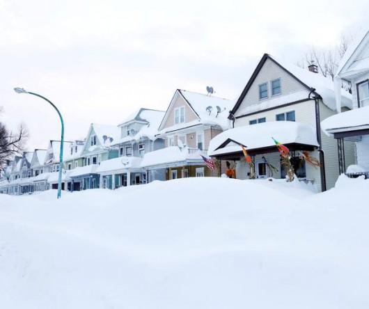 USA - Śnieg który spadł wkrótce zacznie się topić 3