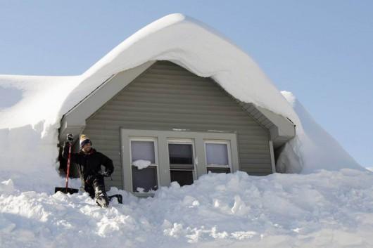 USA - Śnieg który spadł wkrótce zacznie się topić 4