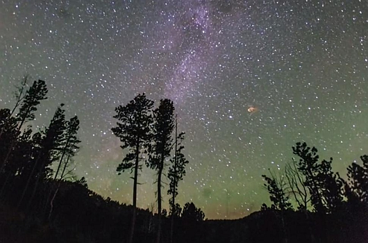 USA - Meteoryt nad Południową Dakotą