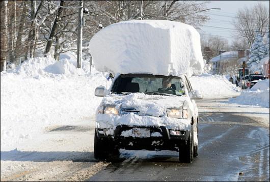 USA - W Buffalo spadło 170 cm śniegu 2