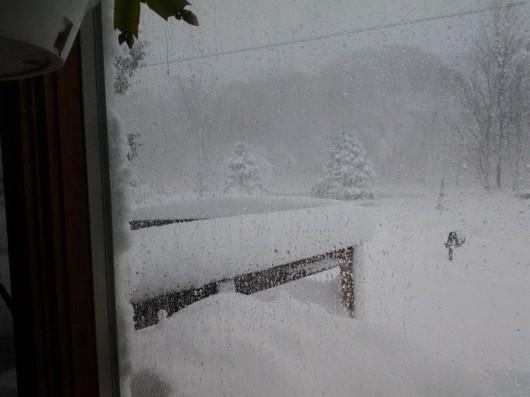 USA - W czterech stanach wyjątkowo wcześnie sypnęło śniegiem 2