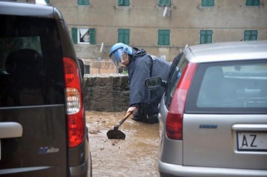 Włochy - Trzecia powódź w ostatnich tygodniach 2