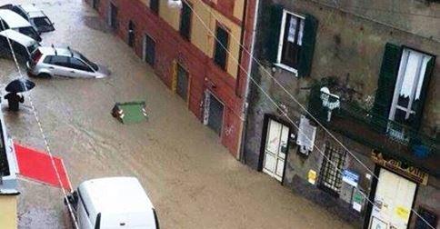 Włochy - Trzecia powódź w ostatnich tygodniach 9