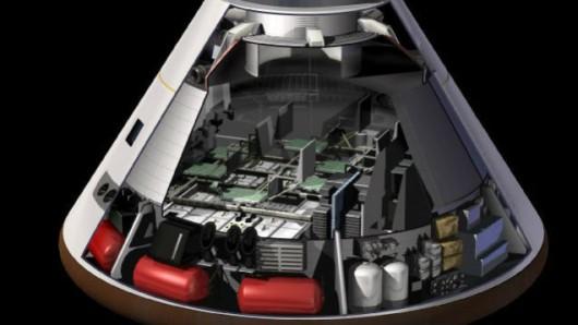 Wnętrze Oriona