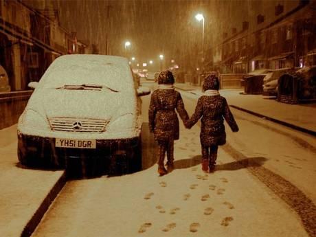 Śnieżyce w Wielkiej Brytanii i Francji 3