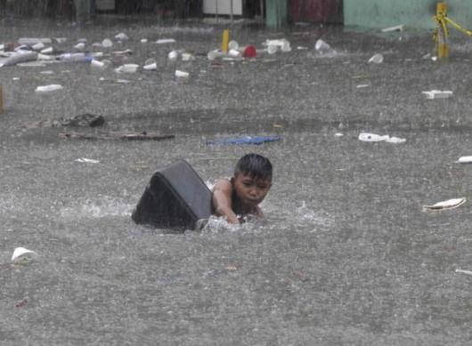 Brazylia - Ulewny deszcz nad Sao Paulo 5
