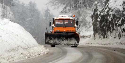 Chorwacja - Miejscami spadło 90 cm śniegu 1