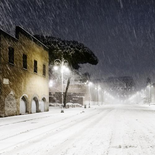 Chorwacja - Miejscami spadło 90 cm śniegu 2