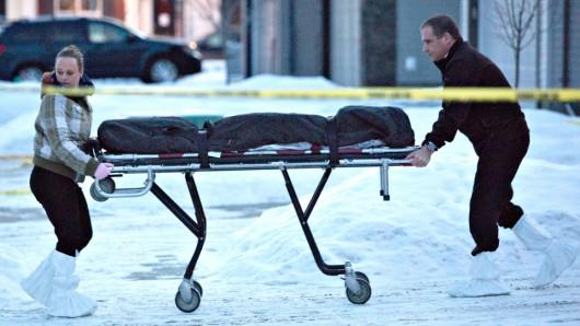Edmonton, Kanada - Zabił 8 osób, w tym dwoje dzieci i popełnił samobójstwo 1