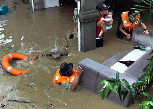 Filipiny - Sztorm tropikalny Jangmi zabił co najmniej 21 osób 7