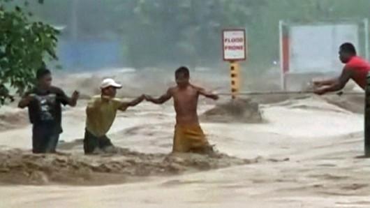 Filipiny - Sztorm tropikalny Jangmi zabił co najmniej 21 osób 9