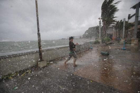 Filipiny - Tajfunu Hagupit zabił już 27 osób