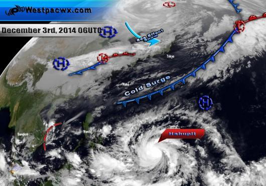 Filipiny szykują się na nadejście tajfunu Hagupit 3