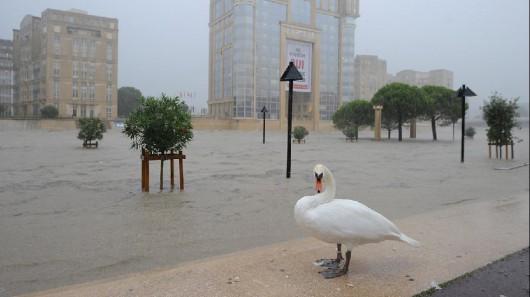 Francja - Powódź dziesięciolecia i klęska żywiołowa na południu kraju 2