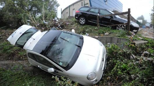 Francja - Powódź dziesięciolecia i klęska żywiołowa na południu kraju 3