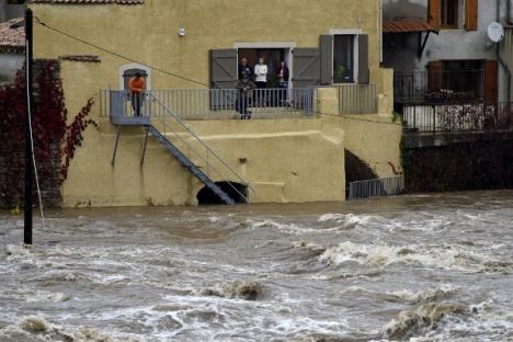 Francja - Powódź dziesięciolecia i klęska żywiołowa na południu kraju 4