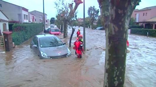 Francja - Powódź dziesięciolecia i klęska żywiołowa na południu kraju 5