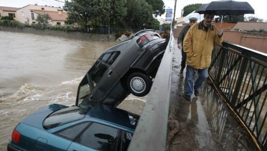 Francja - Powódź dziesięciolecia i klęska żywiołowa na południu kraju 6