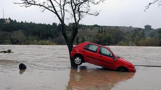 Francja - Powódź dziesięciolecia i klęska żywiołowa na południu kraju 8