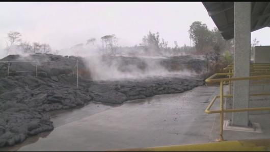 Hawaje, USA - Lawa z wulkanu Kilauea 2