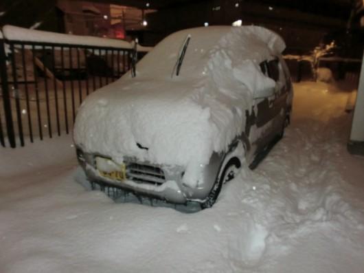Hokkaido pod grubą warstwą śniegu