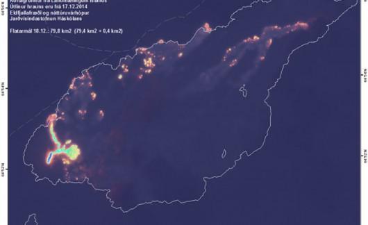 Islandia - Nadal zapada się kaldera wulkanu Bárðarbunga
