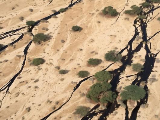 Izrael - Miliony litrów ropy naftowej wylało się z uszkodzonego rurociągu 1