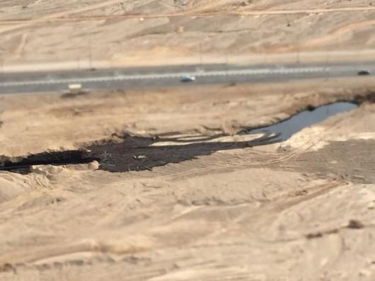 Izrael - Miliony litrów ropy naftowej wylało się z uszkodzonego rurociągu 2