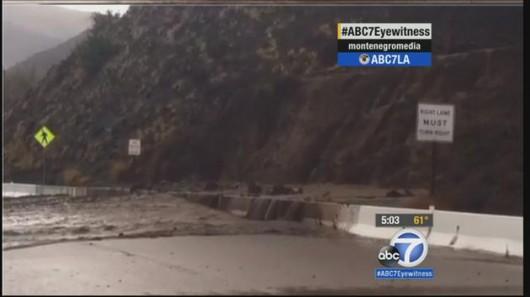 Kalifornia, USA - Po trzech latach suszy zaczęło mocno padać 3