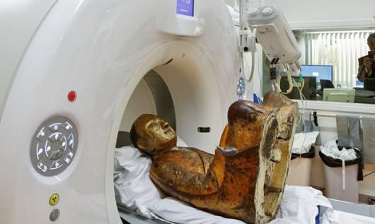Mumia w holenderskim centrum medycznym w Amersfoort
