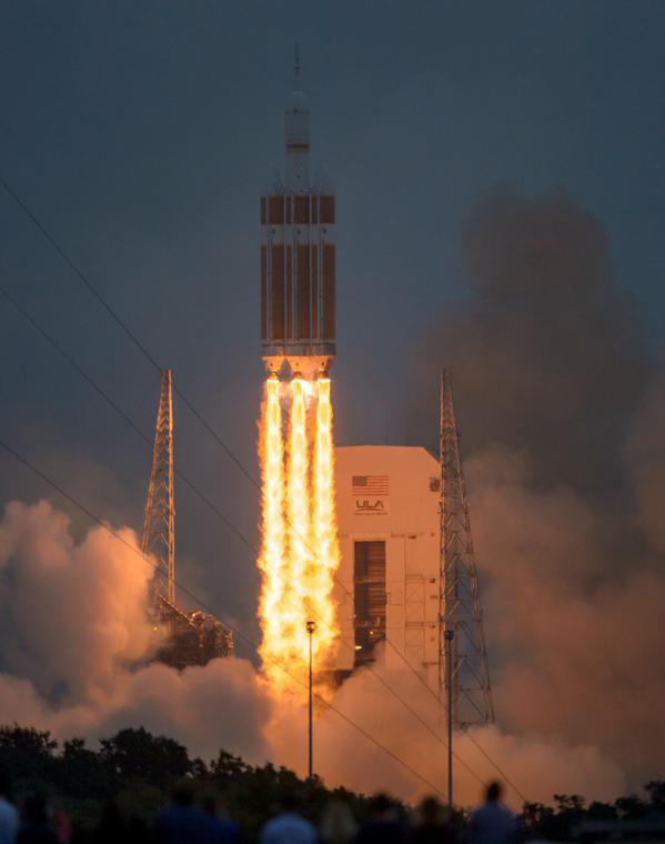 NASA - Pomyślnie zakończył się test statku kosmicznego Orion