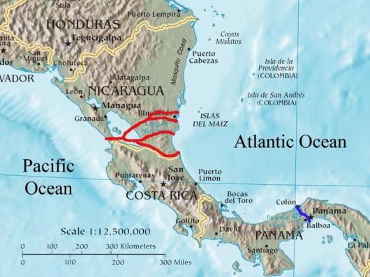 Nikaragua - Chiński biznesmen chce za 50 miliardów dolarów zbudować kanał łączący Atlantyk z Pacyfikiem 2