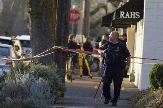 Portland, USA - Strzelanina przed szkołą, cztery osoby zostały postrzelone