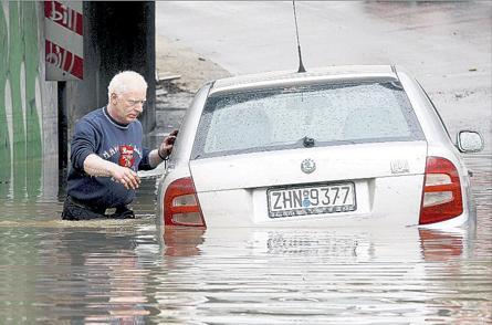 Powódź - Grecja