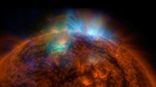 Rozbłyski na Słońcu klasy X