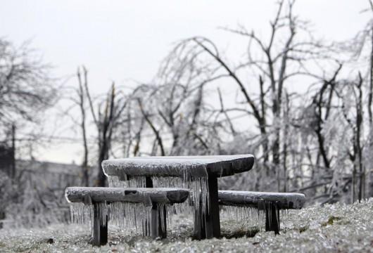 Słowenia - Deszcz, śnieg i mróz 3