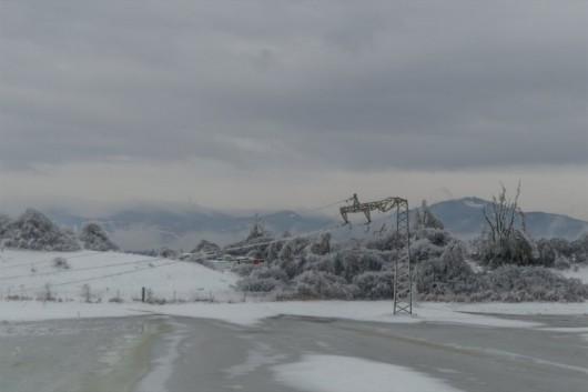Słowenia - Deszcz, śnieg i mróz 6