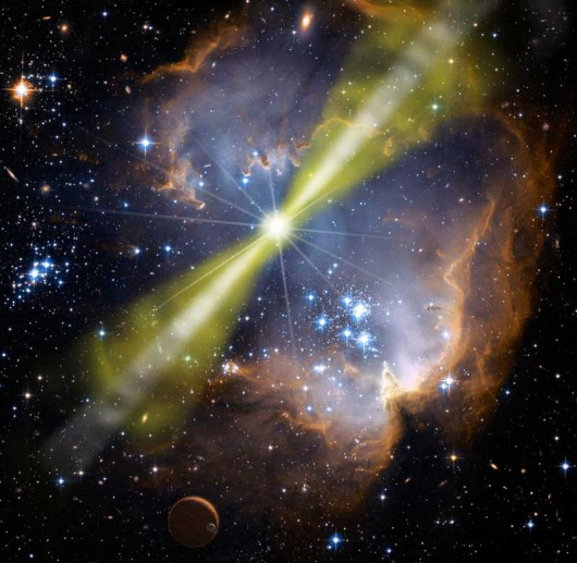 Spektakularna eksplozja gwiazdy
