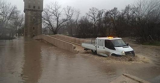 Swilengrad, Bułgaria - Poziom wody w rzece Marica podniósł się o 5 metrów i nadal rośnie 2