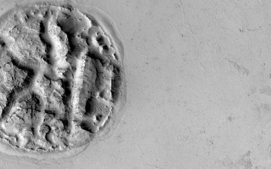 Tajemnicza struktura na Marsie
