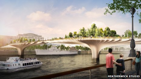 UK - Projekt Garden Bridge Trust 4