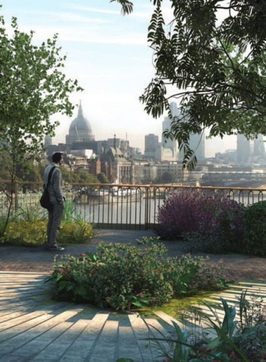 UK - Projekt Garden Bridge Trust