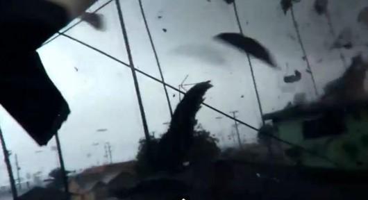 USA - Pierwsze od 10 lat tornado przeszło przez Los Angeles
