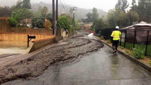 USA - Po trzech latach suszy w Kalifornii, teraz pobite zostały rekordy opadów 1