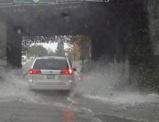 USA - Po trzech latach suszy w Kalifornii, teraz pobite zostały rekordy opadów 3