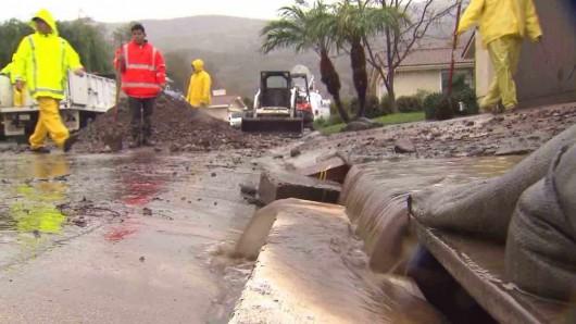 USA - Po trzech latach suszy w Kalifornii, teraz pobite zostały rekordy opadów 4