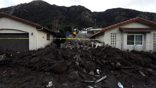 USA - Ulewne deszcze i sztorm, ewakuowano tysiące Kalifornijczyków 4
