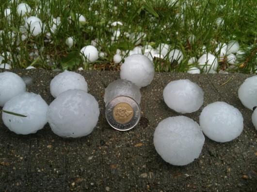 USA - W Oklahomie pojawiły się dwa tornada jednego popołudnia i spadł grad wielkości piłek golfowych 2